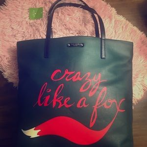 NWT Kate spade ♠️ Crazy Like a Fox 🦊 Tote 👜 Bag